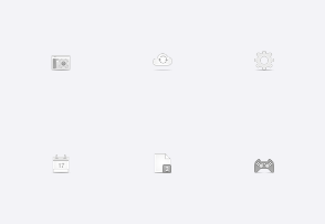 Soft media icons vol 1