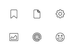 36 Slim Icons