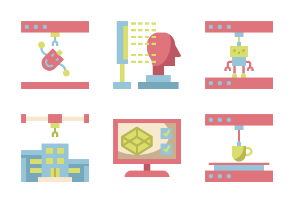 3D Modeling Flaticons