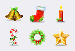 Stunning Christmas icons