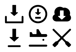 Action Vector Icons Set 4
