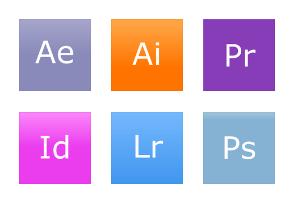 Adobe Icons Metro