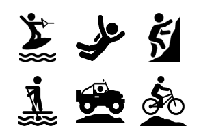 Adventure Series Icons