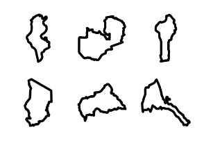 African countries Maps