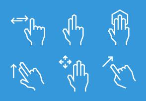 Angular gesture