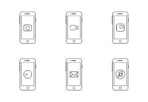 Apple iPhone Apps / Outline