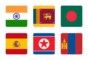 All Countries Flags