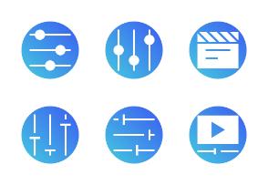 Audio (Badge)