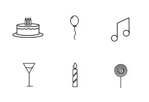Birthday items