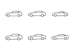 BMW Line Icons