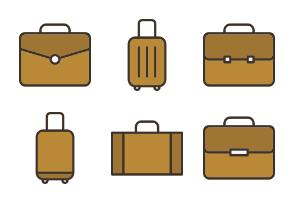 Briefcase & Suitcase