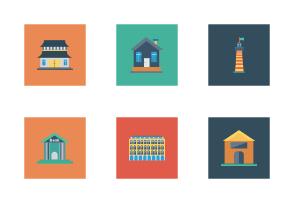 Buildings Flat Square vol 1