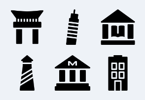 Buildings  & Landmarks set