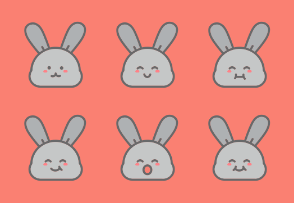 Bunny Faces v2