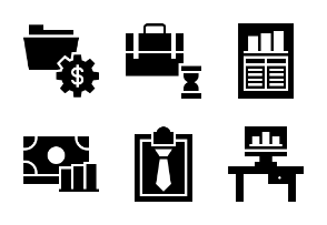 Business and Finance Glyph 31