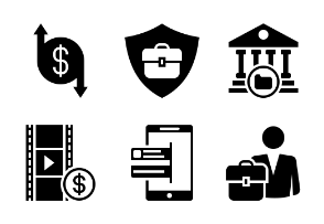 Business and Finance Glyph 5