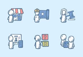 Business - Departments - Color