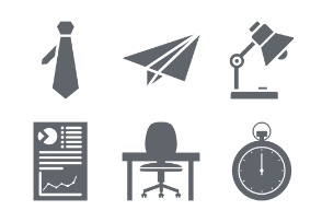 Business Glyphs icon Vol 2