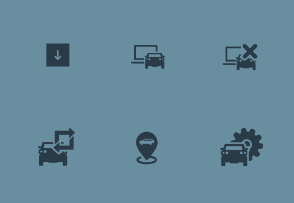 Car Automation Icons