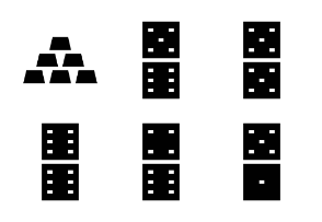 Casino Solid Icons 2
