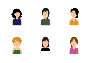 Casual Woman Avatars