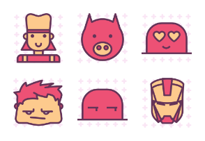 Characters 2/2 Pattern