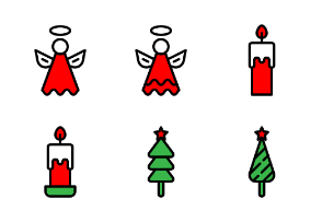 Christmas 1 (filled line)