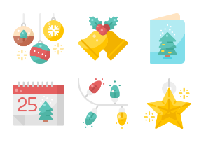 Christmas Decoration - Flat
