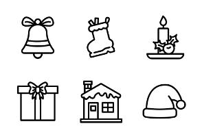 Christmas Decoration - Outline