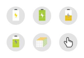 Circled Application Icons