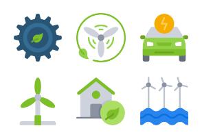 Clean Energy - Flat