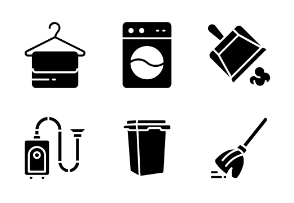 Cleaning Services Glyph