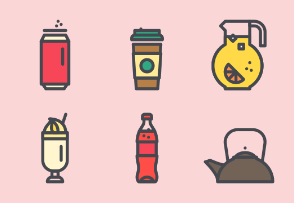 Food & Beverages - Colored