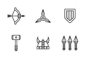 Combat Weapons (Line)