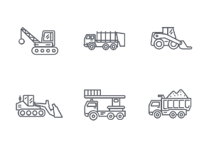 Construction vehicle / Truck / Tractor