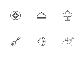 Cooking Utensils and Food
