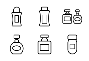 Cosmetic container 3 (line)