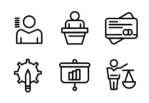 Creative Linear Icon