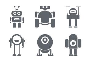 Cute Robot Character Part 5