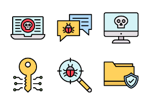 Fillicons: Cyber Security