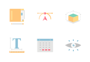 Design Without Outline Iconset