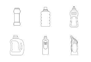 Detergent and cleaner bottle line