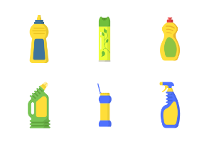 Detergent and cleaner bottle