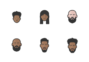 Diversity Avatars Vol. 4 (Heads)