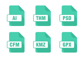 Document File Types Green Vol 1