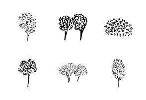 Doodle trees