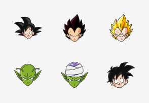 Dragonball Z - Colored