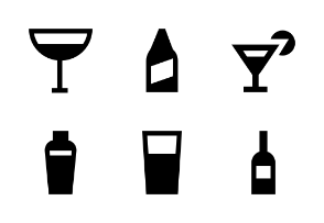 Drinks Material Glyph
