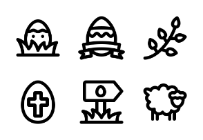 Easter - Jumpicon (Line)