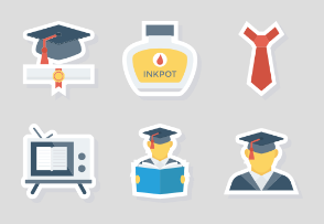Education paper icon vol 2